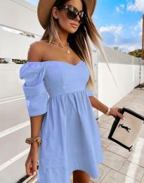 Šaty - kód 7413 - modrý