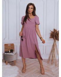 Šaty - kód 2117 - 1 - fialová
