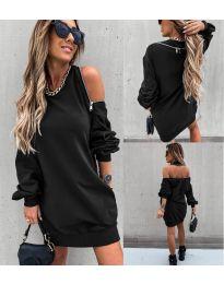 Šaty - kód 296 - čierná