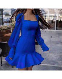 Šaty - kód 3605 - tmavomodrá