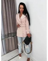Kabát - kód 6061 - ružová