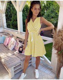 Šaty - kód 3148 - žltá