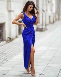 Šaty - kód 6135 - tmavomodrá