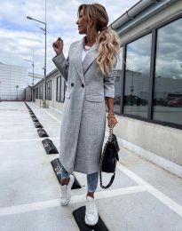 Kabát - kód 8746 - sivá