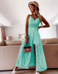 Šaty - kód 2704 - tyrkysová