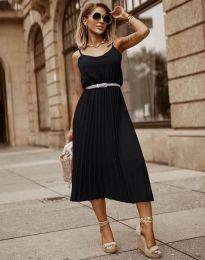 Šaty - kód 1249 - čierná