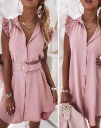 Šaty - kód 7411 - pudrová