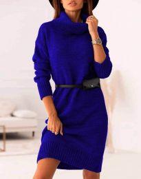 Šaty - kód 0393 - modrá