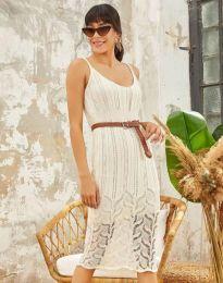 Šaty - kód 0351 - biela
