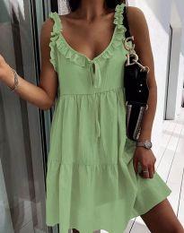 Šaty - kód 2540 - zelená
