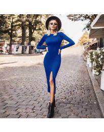 Šaty - kód 4177 - modrá