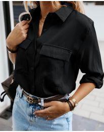 Košeľa - kód 6148 - čierná