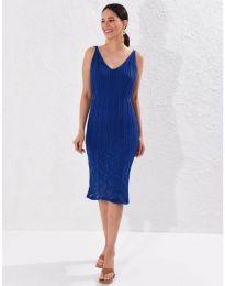 Šaty - kód 0351 - tmavomodrá
