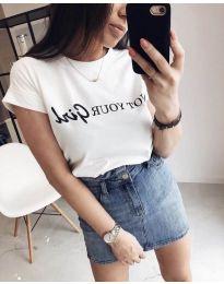 Tričko - kód 978 - 1 - biela