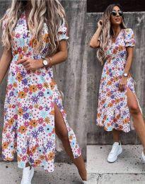 Šaty - kód 6213 - květinové
