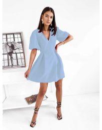Šaty - kód 0807 - modrý