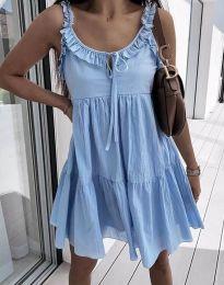 Šaty - kód 2540 - svetlo modrá