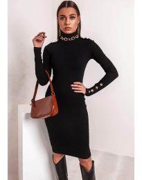 Šaty - kód 11513 - čierná