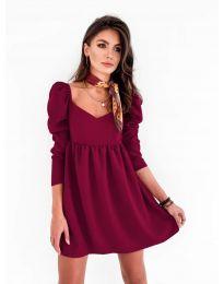 Šaty - kód 390 - bordeaux