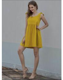 Šaty - kód 2255 - hořčičná
