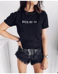 Tričko - kód 951 - 1 - čierná