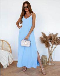 Šaty - kód 11881 - modrý
