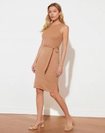 Šaty - kód 12950 Cappuccino