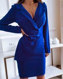 Šaty - kód 4159 - tmavomodrá