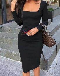Šaty - kód 4521 - čierná