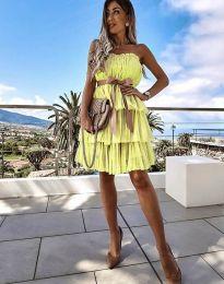 Šaty - kód 3065 - žltá