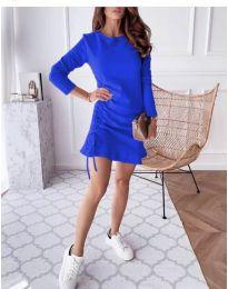 Šaty - kód 832 - modrý