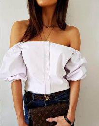 Košeľa - kód 3525 - biela