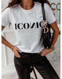 Tričko - kód 996 - 1 - biela