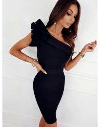 Šaty - kód 2049 - 2 - čierná