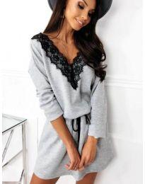 Šaty - kód 5111 - šedá