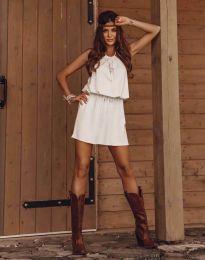 Šaty - kód 8399 - biela