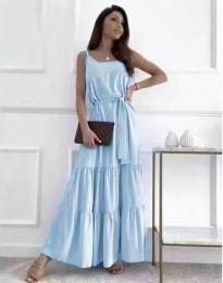 Šaty - kód 2578 - svetlo modrá