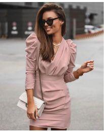Šaty - kód 870 - pudrová