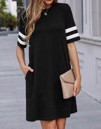 Šaty - kód 3442 - 1 - čierná