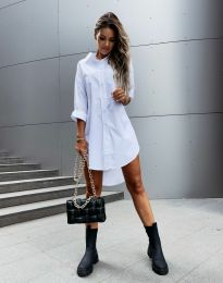 Šaty - kód 7589 - biela