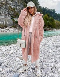 Kabát - kód 8302 - ružová