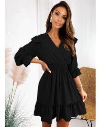 Šaty - kód 8554 - čierná