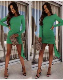Šaty - kód 6515 - zelená