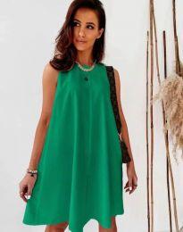 Šaty - kód 9862 - zelená