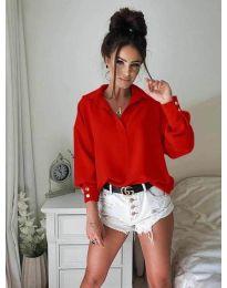 Košeľa - kód 9898 - červená
