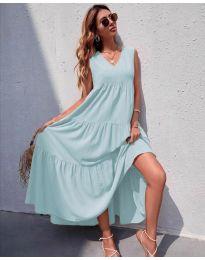 Šaty - kód 8149 - bledo modrá