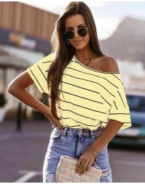 Tričko - kód 5865 - žltá
