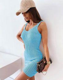 Šaty - kód 10088 - svetlo modrá
