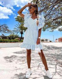 Šaty - kód 2657 - 5 - svetlo modrá