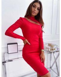 Šaty - kód 149 - červená
